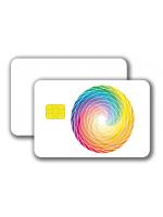Chipcard SLE5542 -  4/0 colored