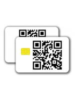 Chipcard SLE5542 -  1/1 colored