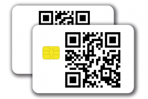 Chipcard SLE5542 -  1/1 colored