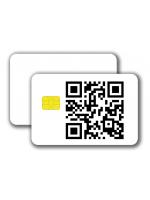 Chipcard SLE5542 -  1/0 colored