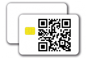 Chipcard SLE5542 -  1/0 colored