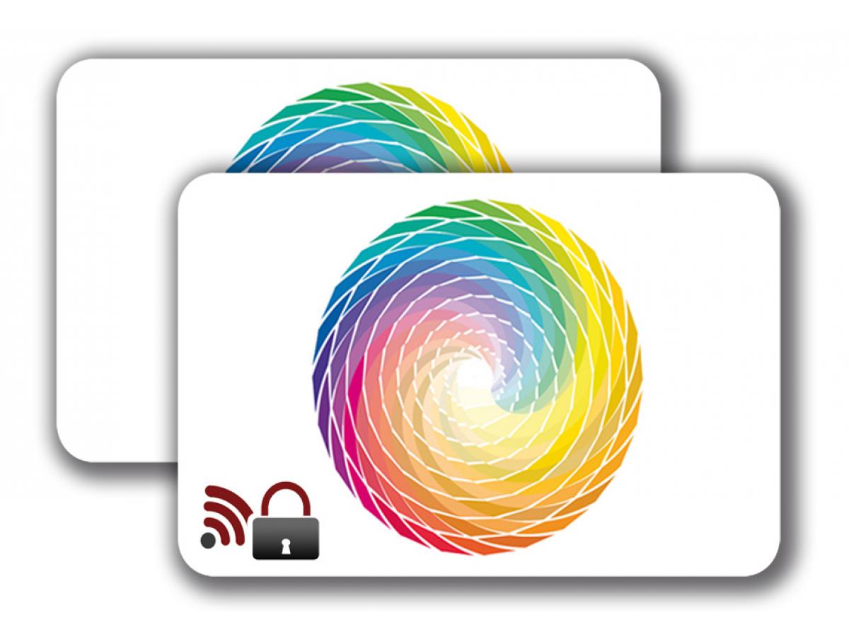 RFID Blocking Card -  4/4 colored