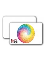 RFID Blocking Card -  4/0 colored