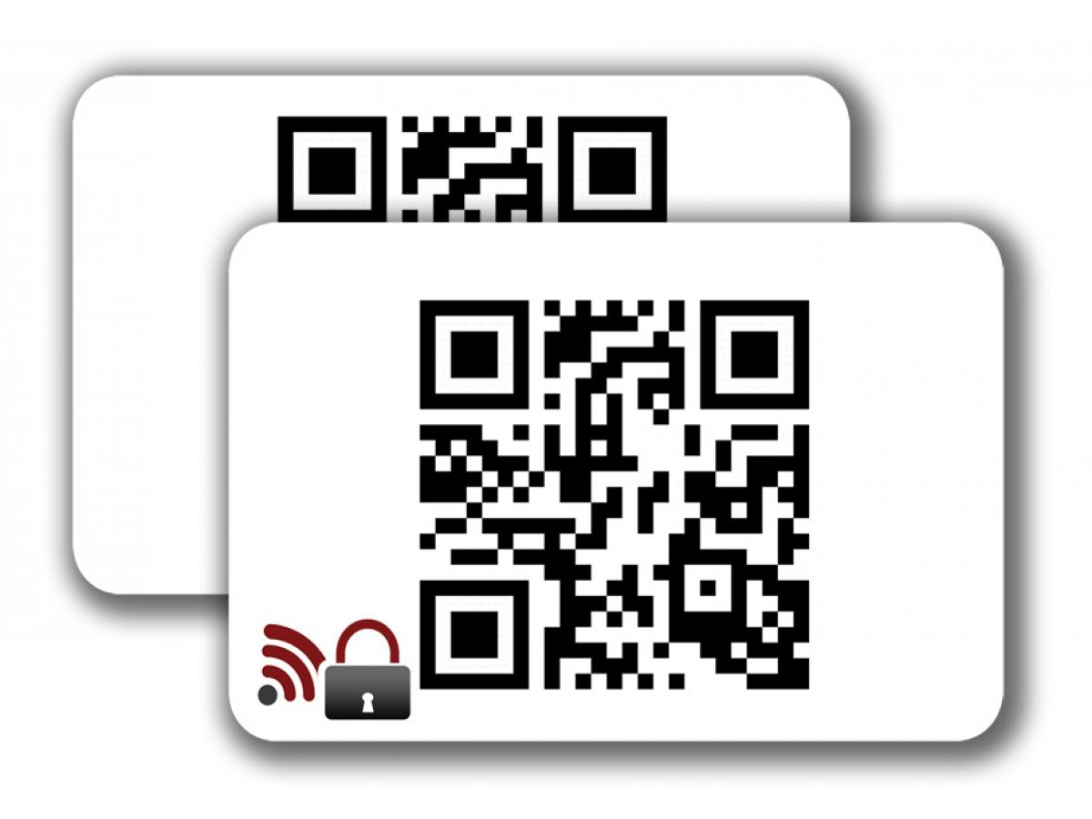 RFID Blocking Card -  1/1 colored