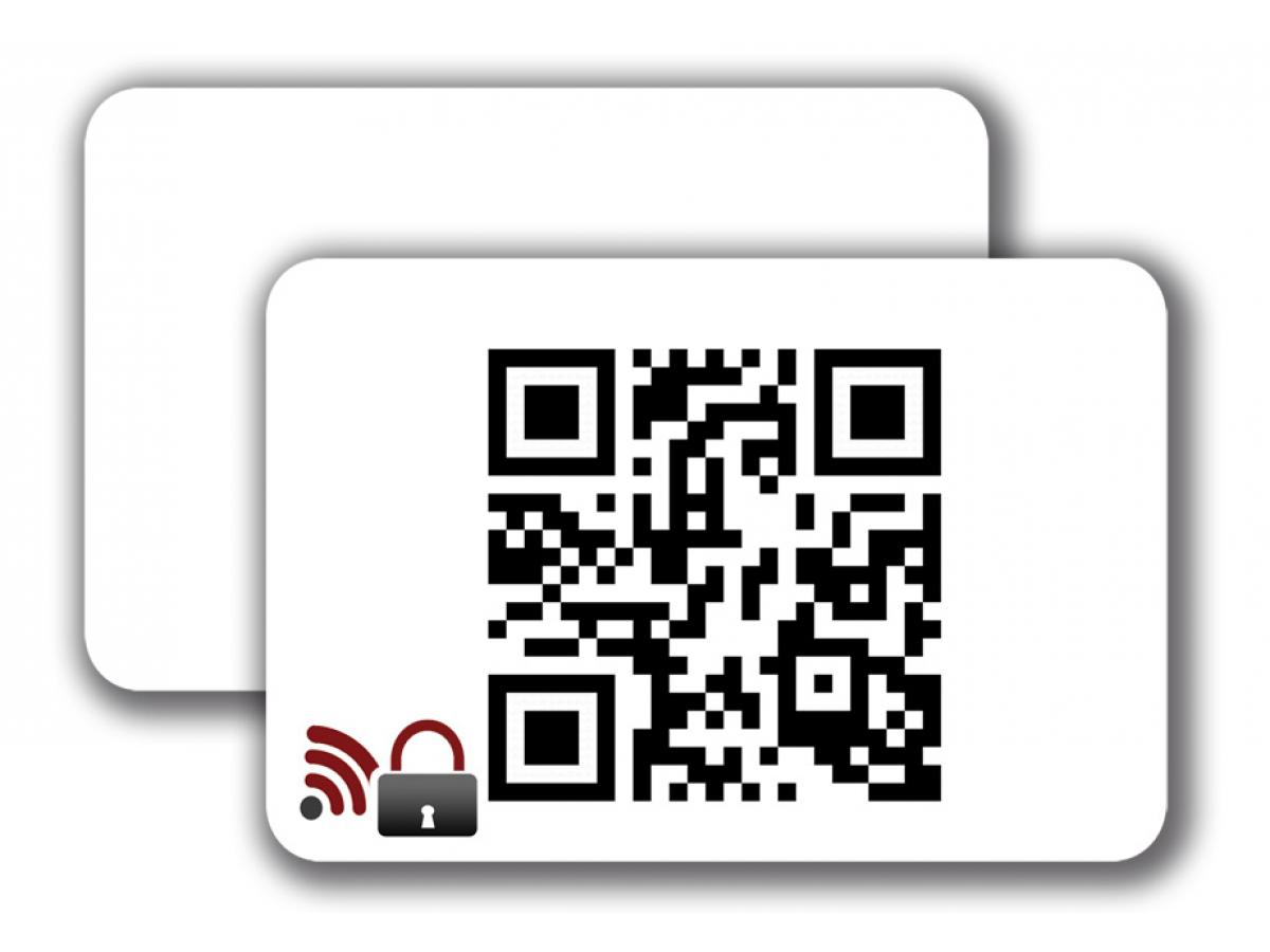 RFID Blocking Card -  1/0 colored