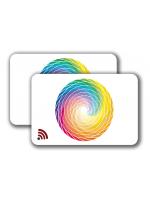 RFID Card MIFARE -  4/4 colored